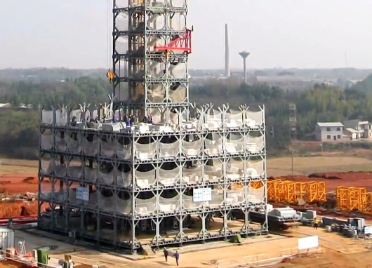 Bangunan Paling Tinggi di Dunia, Dibangun Hanya 6 Bulan Saja