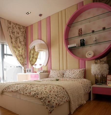 mendesain ruangan bernuansa romantis